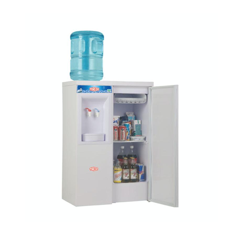 Enfriador calentador de agua con refrigerador puresa hcr 320 for Mueble para calentador de agua
