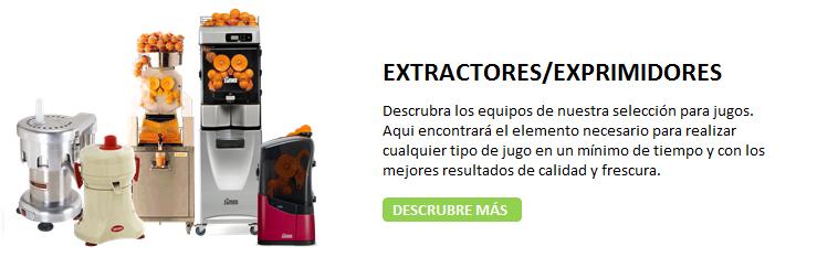 EXPRIMIDORES Y EXTRACTORES DE JUGOS