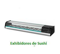 Exhibidores de Sushi