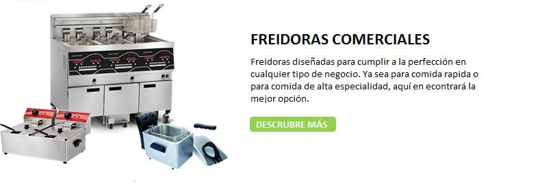 FREIDORAS COMERCIALES