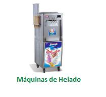 Máquinas de Helado