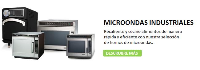 MICROONDAS INDUSTRIALES, FUENTE DE SODAS/SNACKS