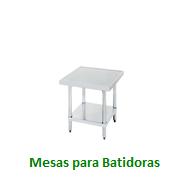 Mesas para Batidoras