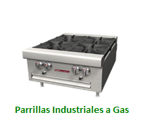 Parrillas a Gas
