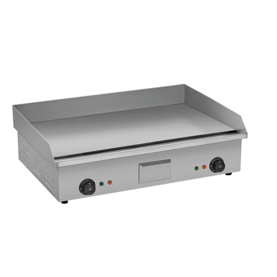 Plancha grill lisa migsa fb bn820b acero inoxidable praim mx for Plancha electrica para cocinar