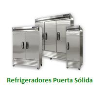 Refrigeradores Puerta Sólida