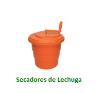 Secadores de Lechuga