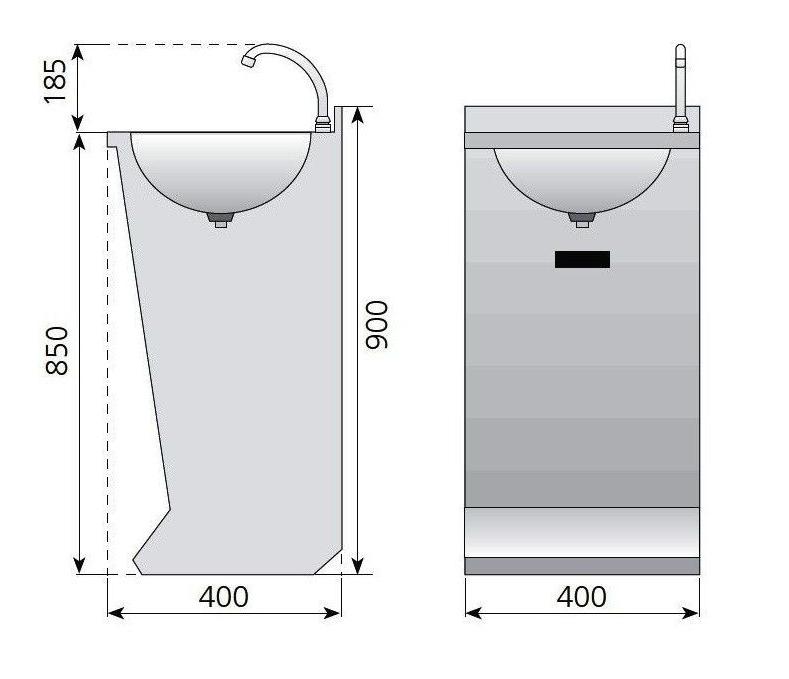 Medidas Lavamanos LP-44