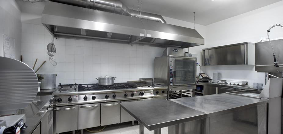 Campana de extracci n tipo piramidal acero inoxidable - Diseno cocina industrial ...