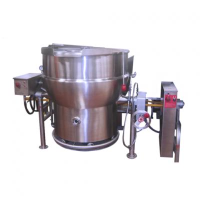 Marmita a Gas Fija-Volteo de 140 Litros