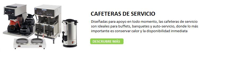 CAFETERAS DE SERVICIO