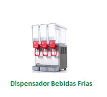 Dispensador Bebidas Frías