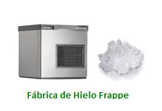 Fabricas de Hielo Frappe