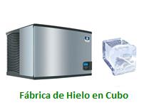 Fabricas de Hielo en Cubo