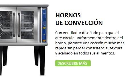 HORNOS DE CONVECCION