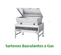 Sartenes Basculantes a Gas