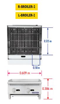 Sobrinox Broiler 2 Medidas