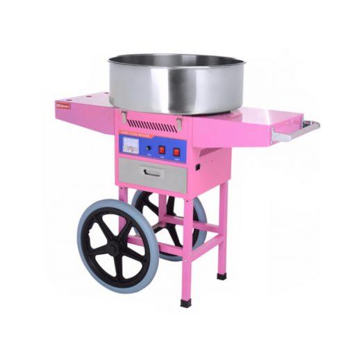 Maquina de Algodones de Azúcar con Carrito HEC-04C