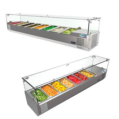 Bases Refrigeradas para Ingredientes